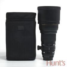 SIGMA 300mm f2.8 D APO DG HSM NIKON AUTO FOCUS D MOUNT LENS w/CASE