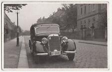 Foto Ak Mercedes Front Autnahme 1940er Dresden Löbtau Malterstraße (F2303