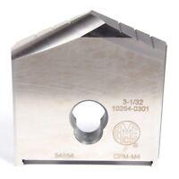 """AMEC Powdered Metal Spade Drill Insert 3-1/32"""" Series F 10264-0301"""