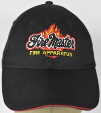 Fire Master Apparatus Equipment Embroidered Baseball Hat Cap Adjustable Strap
