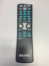 SANYO TV REMOTE CONTROL FXVL for DS25520 DS27530 w/batteries