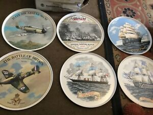 Selection of Vintage collectors Serving Trays -Round, Plastic