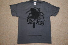 GALLOWS SPIDER YOUTH T SHIRT 9-11 YEARS NEW OFFICIAL GREY BRITAIN