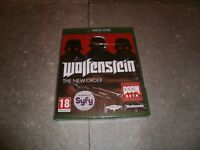 Jeu XBOX ONE Version Française: WOLFENSTEIN The New Order - Neuf sous Blister