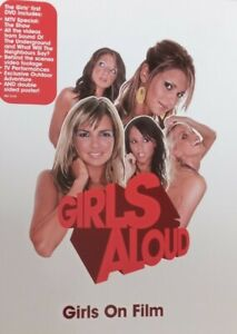 GIRLS ALOUD: ON FILM GREATEST HITS: MTV SHOW + MUSIC VIDEOS DVD + FOLDOUT POSTER