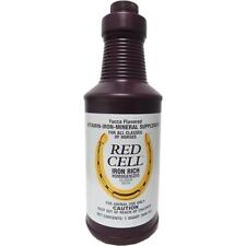Farnam Red Cell Yucca Flavored Iron Mineral Rich Supplement For Horses 32oz