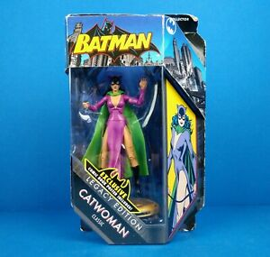 DC Universe Batman Legacy Edition Classic Catwoman Action Figure 6 inch