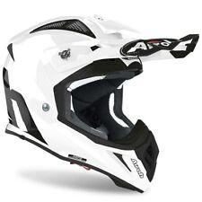 Airoh Aviator As Blanco Brillo Motocross MX Enduro Moto de Cross Casco