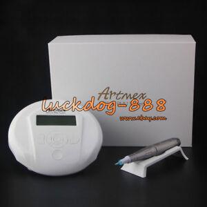 For Permanent Makeup Tattoo Machine Artmex Eye Brow Lip Rotary Pen V6 MTS PMU