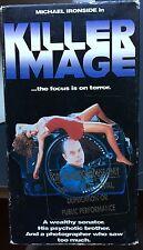 Killer Image (VHS) SCREENER of 1992 horror-thriller with Michael Ironside