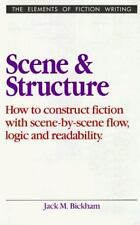 Scene and Structure (Elements of Fiction Writing), Bickham, Jack M., Very Good B
