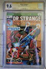 Doctor strange 1 cgc 9.6 ss. signed by Frank Brunner and Steve Englehart!!.
