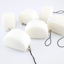 1PZ Squishy Cina Baozi Bianco Cellulare Cinghie Pane Profumato Portachiavi