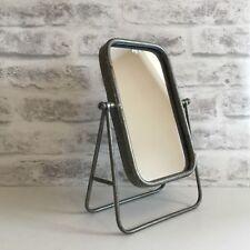 Vintage Industrial Style Metal Swing Vanity Mirror Shaving Make Up Freestanding