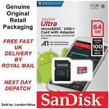 SanDisk Ultra 64GB Micro SDXC Card - For Phones & Nintendo Switch Gaming Console