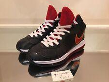 Nike Lebron 8 V2 Heat Alternate Away PE Sample Rare 9 1 Miami Black White 3M 8f67fb19e2a5