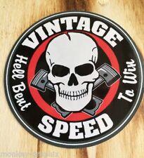 "Bike & Hotrod / Retro / Oldschool Sticker "" Vintage  "" /  Aufkleber"