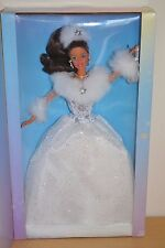 2002 Playline Collector WINTER'S REFLECTION Brunette Hispanic Barbie
