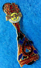 KONA HAWAII 6TH ANNIVERSARY MT KILAUEA VOLCANO FV LAVA GUITAR Hard Rock Cafe PIN