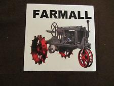 FARMALL TRACTOR Bumper Sticker/Decal