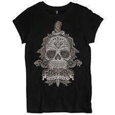 Camisas y tops de mujer de color principal negro 100% algodón talla 38