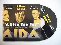 ELTON JOHN feat. SCAFF & MACKAY : A STEP TOO FAR [ CD SINGLE ] ~ PORT GRATUIT