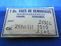 Tige de Remontoir ZENITH Calibre 2510 2532 C 2542 Winding Stem NOS NEUF NEW NEU
