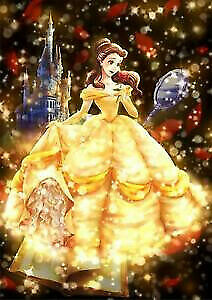 Tenyo Puzzle Disney Beauty & the Beast Belle Shining Love Story Puzzle 266 pi...