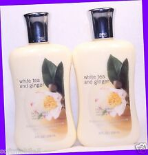 2 Bath & Body Works Signature Collection WHITE TEA & GINGER Body Lotion / Cream