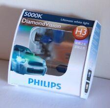 Genuine Philips H3 12V 55W 5000K Diamond Vision Bulbs