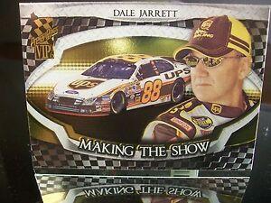 Insert Dale Jarrett Press Pass VIP 2006 Card #MS 12/25 MAKING THE SHOW
