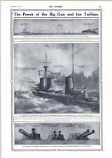 1910 Princess Royal Type Battleship Cruisers Charles Pears Cartoon