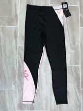 Puma Womens Leggings BNWT Small Black/pink Gym Running Cycling Training RRP £40