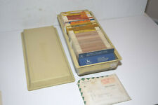 Vintage 1980's-90's John Dealer Service Microfilm Program & Microfiche Library