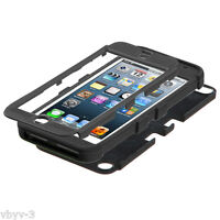 Apple iPod Touch 6 6th Gen TUFF Hybrid Silicone Rugged Hard Case Cover Pad BLACK