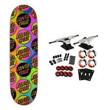 "Santa Cruz Skateboard Complete Vx Afterglow MultiDot 9.0"" Quad X Technology"