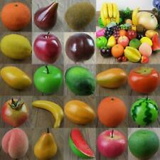 Lifelike Artificial Decorative Fruit Kitchen Fake Display Home Food Decor Craft