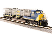 BROADWAY LIMITED 3744 N Scale GE AC6000 CSX #634 Paragon3 Sound/DC/DCC