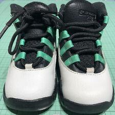 JORDAN 10 Verde baby shoes 6C