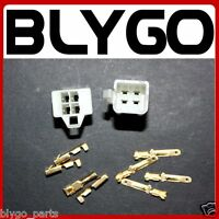 4 Pins Male Female Wiring Loom Wire Plug Socket PIT PRO QUAD DIRT BIKE ATV BUGGY
