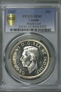 Canada 1947 $1 Maple Leaf PCGS SP 61   S272
