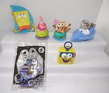 McDonalds Toys SpongeBob SquarePants 2012 & 2015+Pineapple House Playset Figures