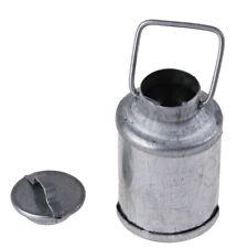 1:12 Doll House Miniature Accessories Farm Metal Milk Can Kettle Pot FT