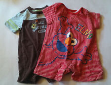 Infant Baby Boy Clothes..Lot of 2 *0-3* month one piece outfits