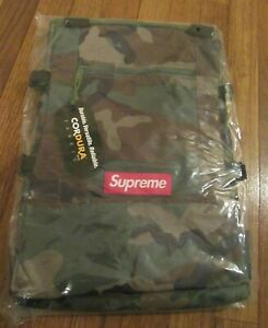 Supreme Tote Backpack Woodland Camo SS19B13 Supreme New York 2019 SS19 Brand New