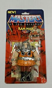 Masters of the Universe Custom Ram Man Mini Comic Version Carder Sealed WOW !!!!