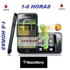 LIBERAR BLACKBERRY Z5 Z10 Z30  Q10 Q5 VODAFONE ESPAÑA
