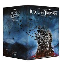 Juego De Tronos SERIE COMPLETA EN DVD CASTELLANO EDICION ESPAÑA NUEVA PRECINTADA