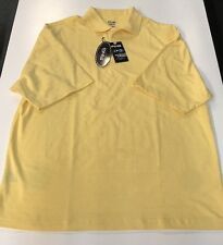 Ping Dry Fiber Dynamics Yellow Polo Large L NEW NWT Popcorn Color