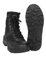 Mil-Tec Security Stiefel Einsatzstiefel Wanderstiefel Schuhe Schwarz 38-47